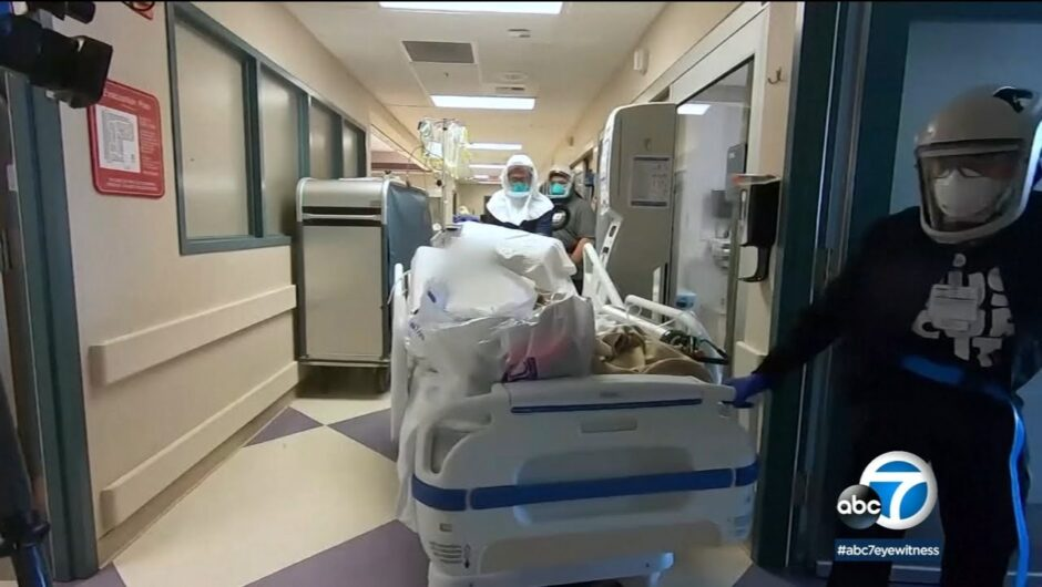 CA hits record 585 COVID-19 deaths in 1 day as infections rage out of control