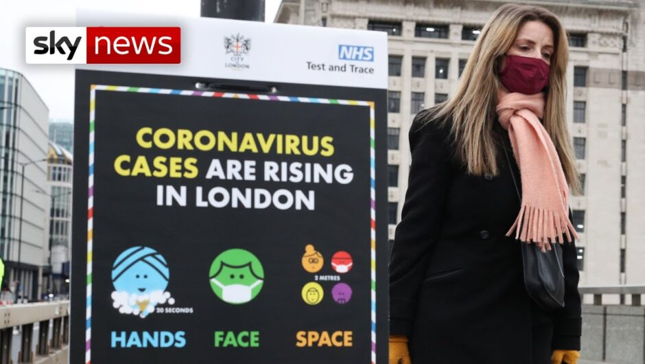 COVID-19: UK reports highest ever number of daily coronavirus deaths