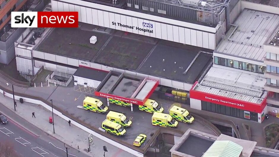 COVID-19: Sadiq Khan has warned London hospitals could be overwhelmed and more people will die