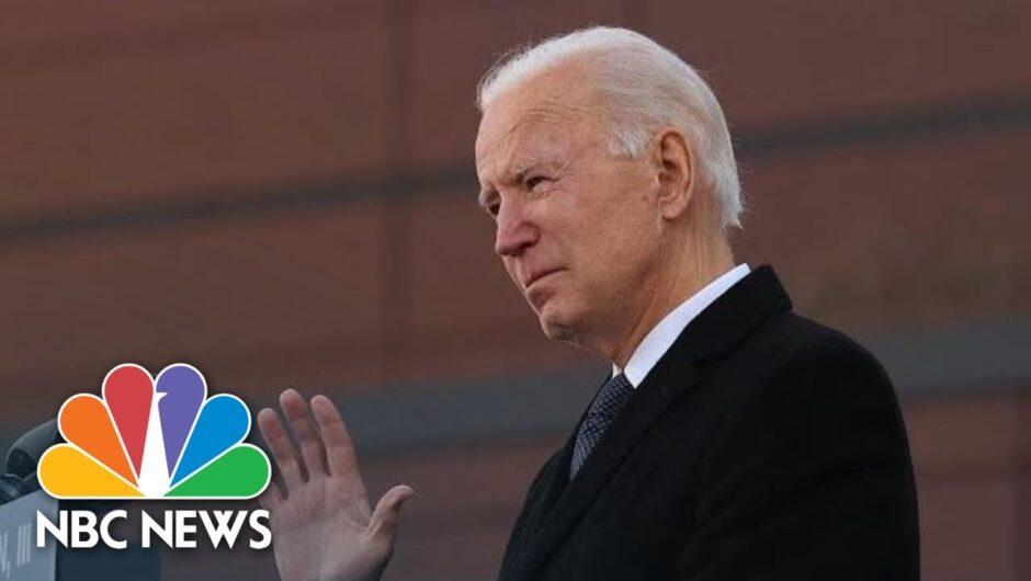 Biden Participates In Memorial To Remember Covid-19 Victims | NBC News