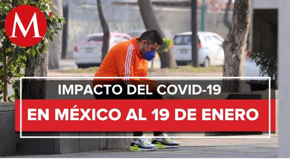 Coronavirus en México registra 142 mil 832 muertes por el virus SARS-CoV-2