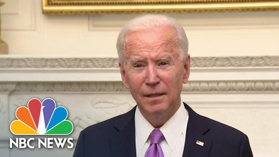 Biden Unveils National Strategy For Covid-19 Vaccinations | NBC News