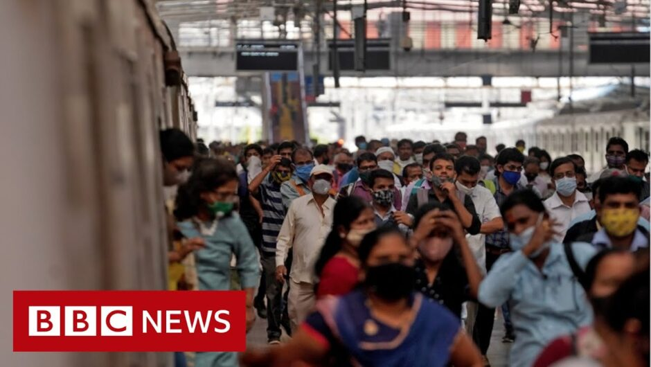 Mumbai trains reopen to the public as Covid restrictions ease – BBC News