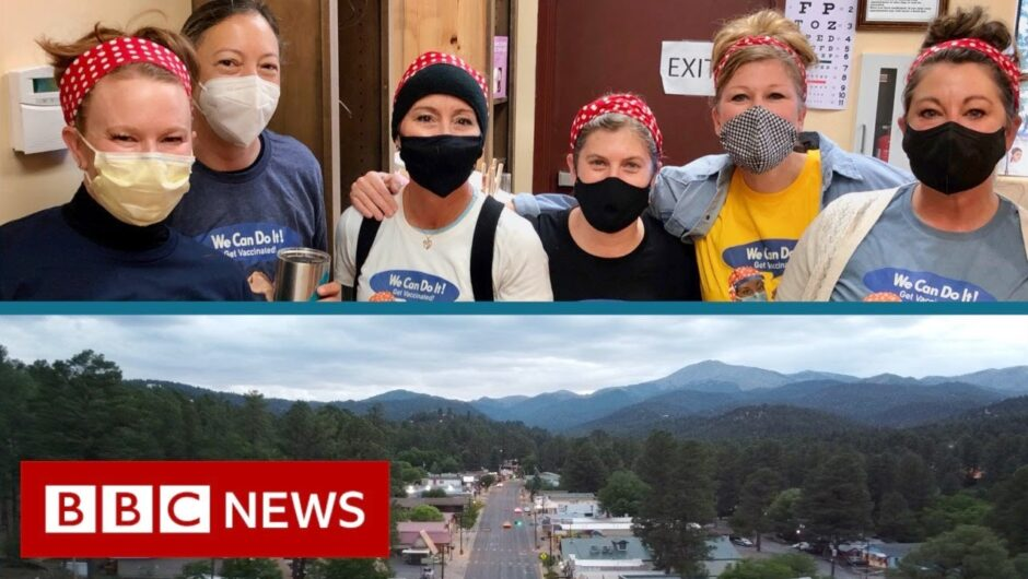 The 'Fabulous Ladies' book club helping to vaccinate their small town – BBC News