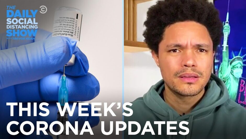 This Week's Coronavirus Updates – Week of  1/25/21 | The Daily Social Distancing Show