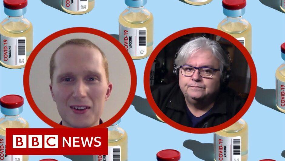 'Vaccine hunters' helping older people get Covid jabs – BBC News
