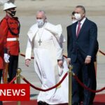 Pope Francis makes first papal visit to Iraq amid security fears – BBC News