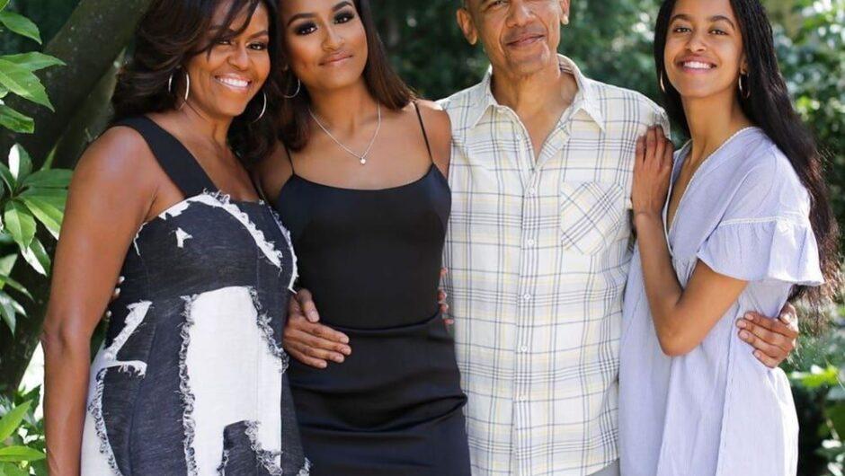 Michelle Obama shut down Sasha, Malia from late-night baking addiction during pandemic