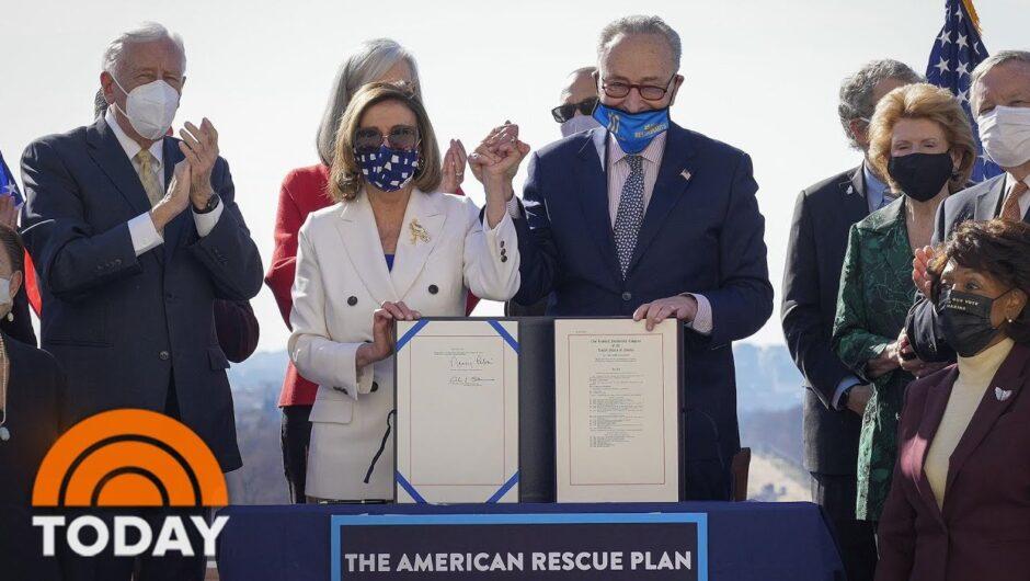 COVID-19 Relief Bill, Including $1,400 Stimulus Checks, Passes Congress | TODAY