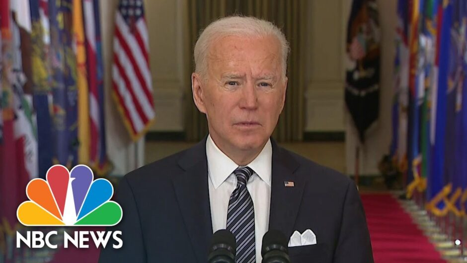 Watch President Biden's Full Remarks On Anniversary Of Covid Pandemic | NBC News