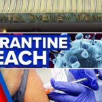 Coronavirus: Quarantine guard tests positive, breaking NSW's 55-day streak