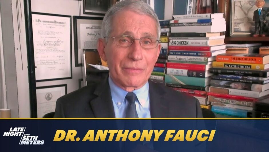 Dr. Anthony Fauci Breaks Down the COVID-19 Variants