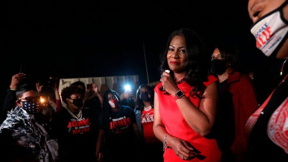 St. Louis Elects Tashaura Jones Its First Black Female Mayor
