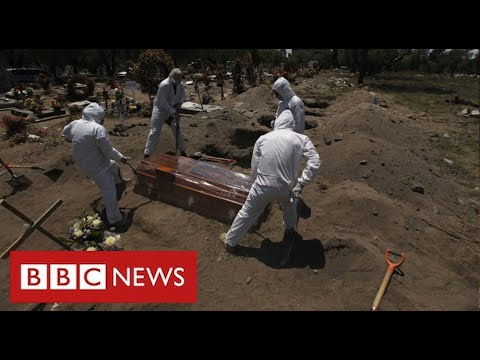 Mexico suffering world's highest Covid death rate as cases surge – BBC News