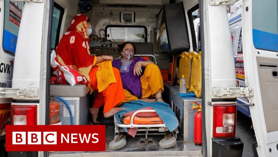 Indian hospitals send SOS as Covid toll surges – BBC News
