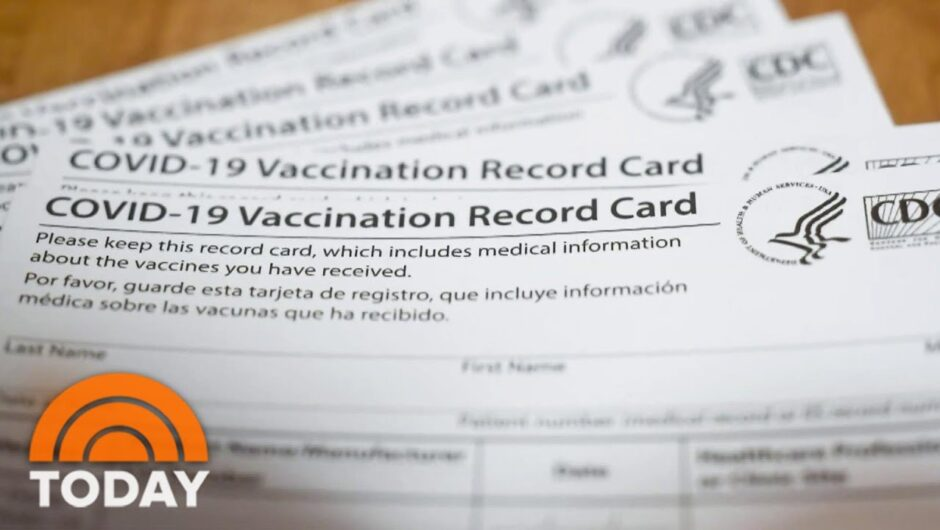 The Risks Of Posting Your COVID-19 Vaccine Card On Social Media | TODAY