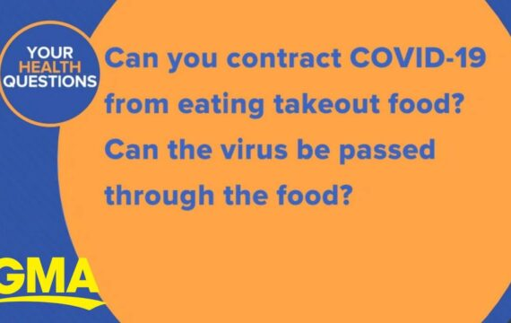Can you contract COVID-19 from takeout food?