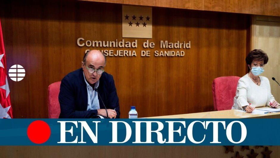DIRECTO CORONAVIRUS | Madrid actualiza las restricciones de movilidad