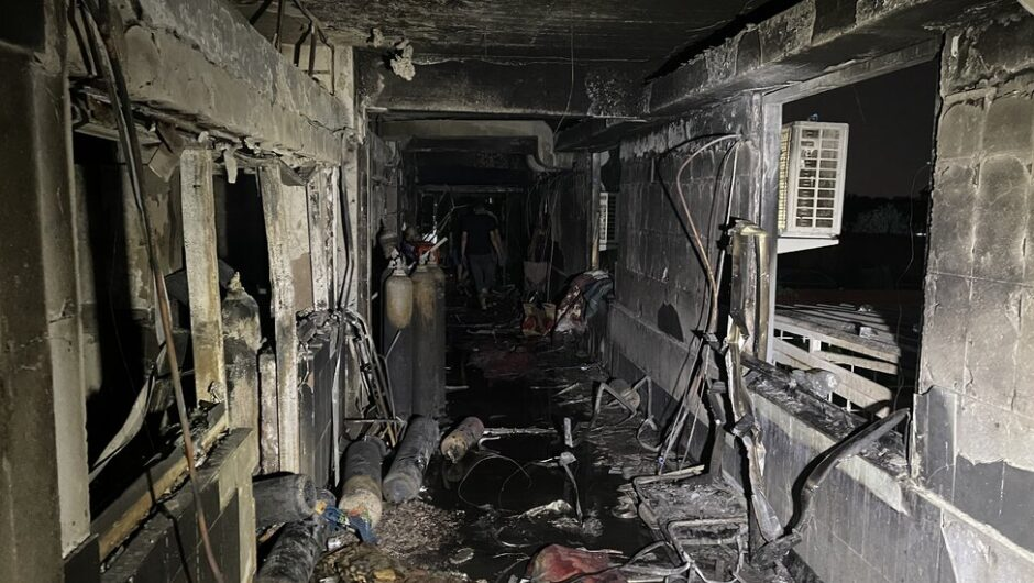 Baghdad Hospital Fire Kills at Least 82, Many of Them Covid Patients