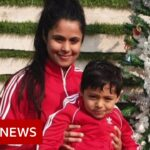 Final message of 34-year-old mother dying from Covid – BBC News