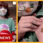 Young Americans begin vaccination programme as Pfizer-BionTech jab approved – BBC News