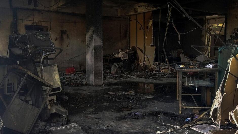 Fire Strikes Covid Hospital Ward in India.