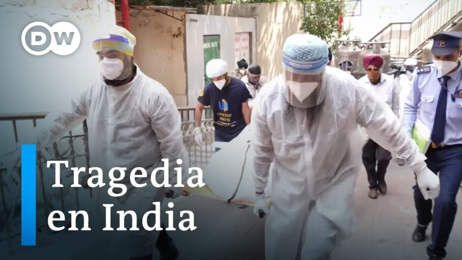 El coronavirus azota a India