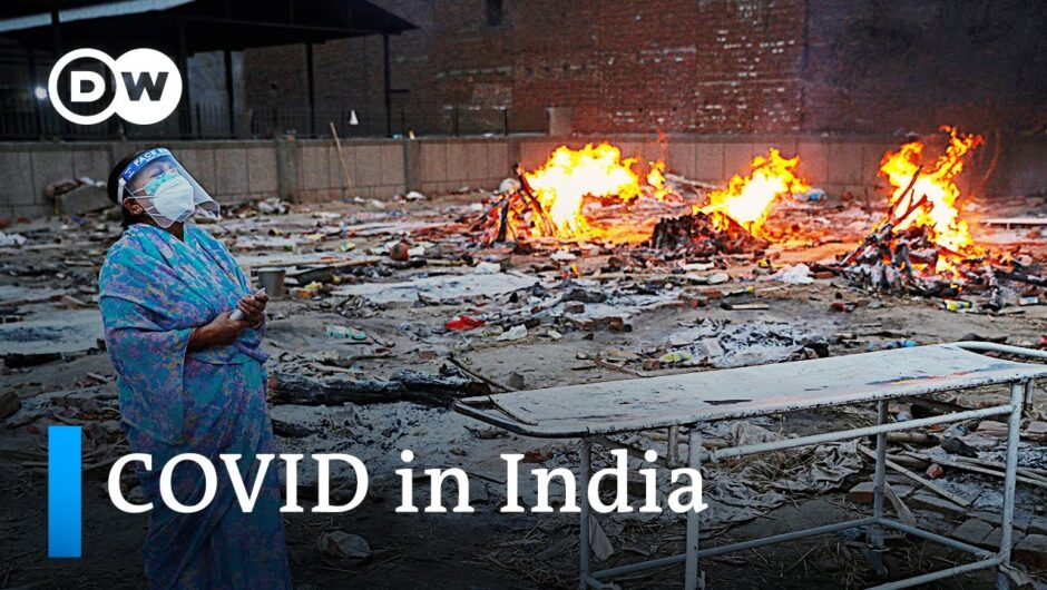 India records another record high in daily COVID deaths and infections | DW News