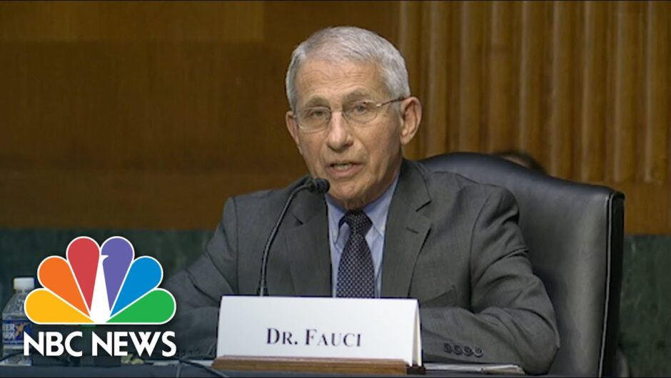 Fauci Spars With Sen. Rand Paul Over Origins Of Covid-19 | NBC News