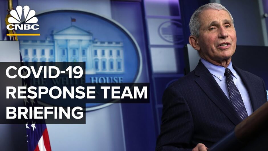 White House Covid-19 Response Team and public health officials hold briefing — 5/13/2021