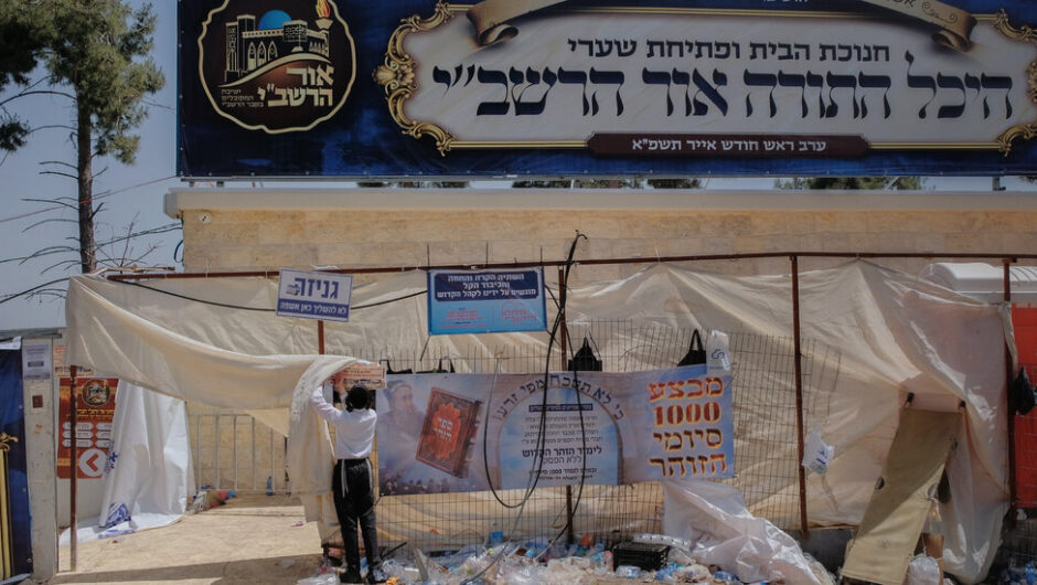 Recriminations Grow in Israel After Stampede at Mount Meron