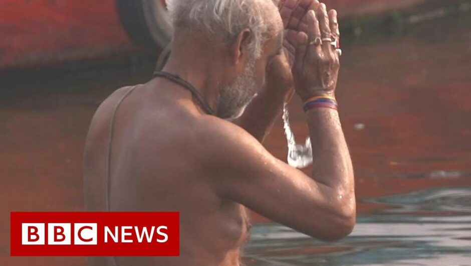 Covid causes new environmental dilemma for India's Ganges River – BBC News