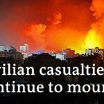 Israel bombs Gaza apartment blocks +++ Hamas rockets rain on Israel | Israel Conflict Update