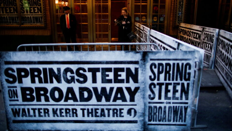 'Springsteen on Broadway' is returning, but not for guests who haven't had F.D.A.-approved vaccines.