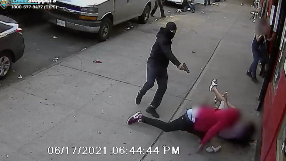 2 Children Out Walking Get Caught Between a Gunman and His Target