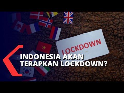 Wacana Indonesia Lockdown untuk Stop Penyebaran Covid-19