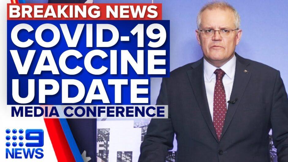 Scott Morrison announces mandatory vaccines for aged care workers | Coronavirus | 9 News Australia