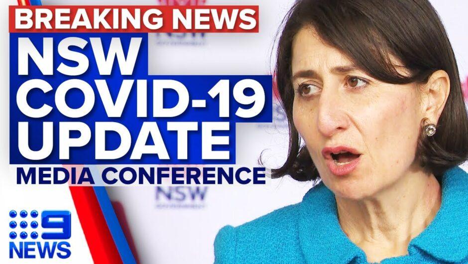 NSW COVID-19 cases update, business support announced   Coronavirus   9 News Australia