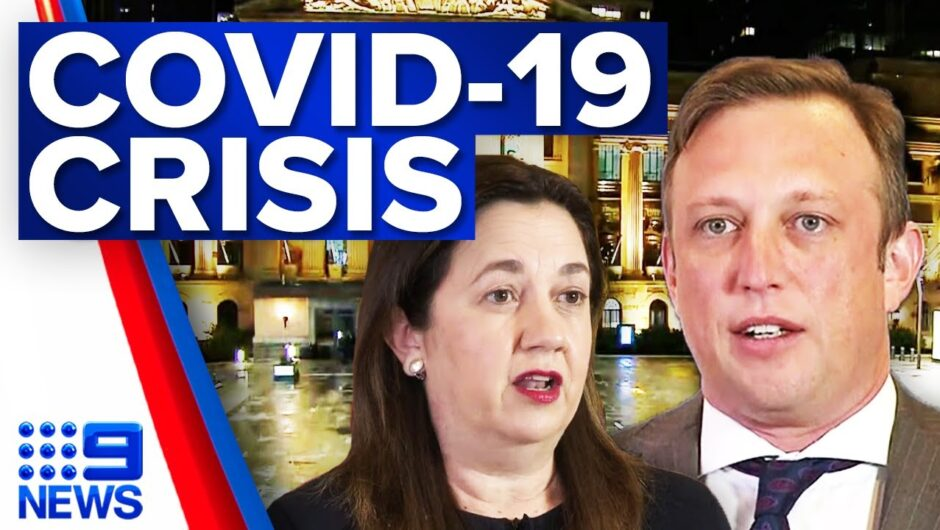 COVID-19 crisis grows amid Queensland lockdowns   Coronavirus   9 News Australia