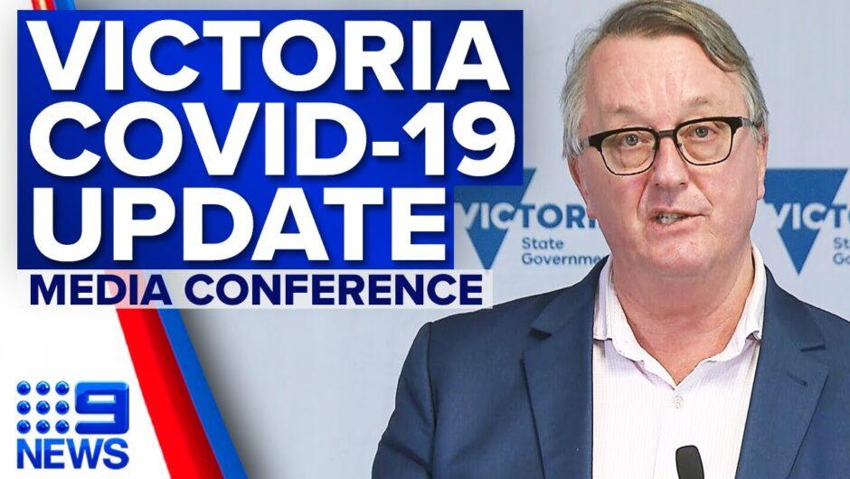 Victoria records five new local COVID-19 cases | Coronavirus | 9 News Australia
