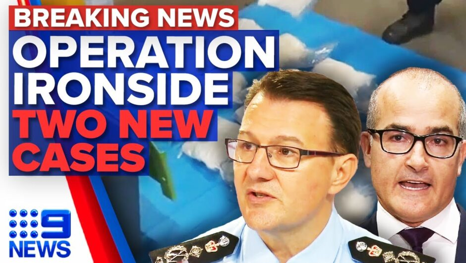 AFP reveals secret global operation, two new Victorian COVID-19 cases   9 News Australia