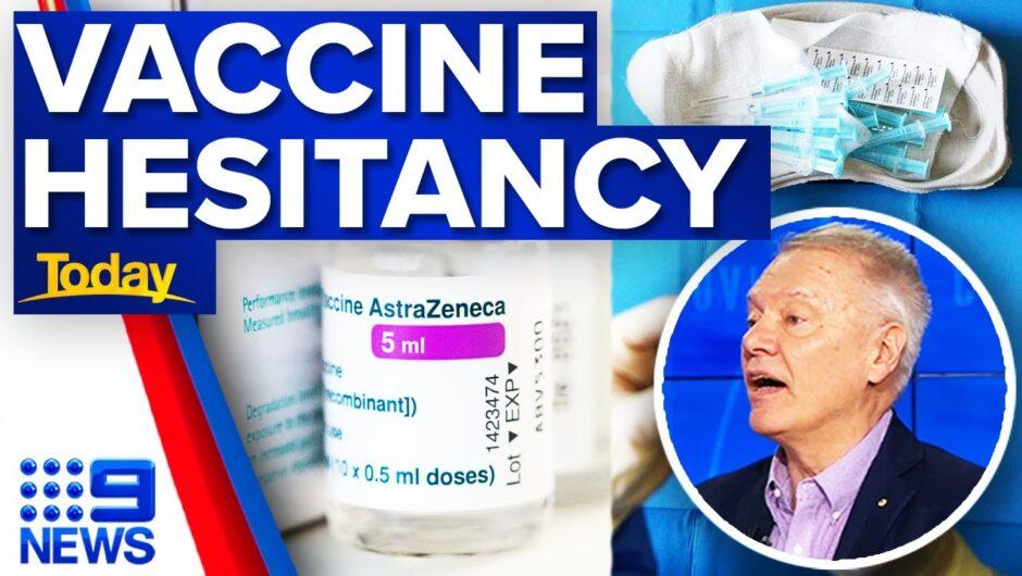 AstraZeneca vaccine cancellations soar | Coronavirus | 9 News Australia