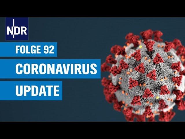Coronavirus-Update #92: Titel | NDR Podcast