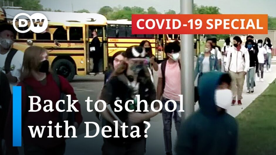 Delta and kids: What happens when they go back to school? | COVID-19 Special