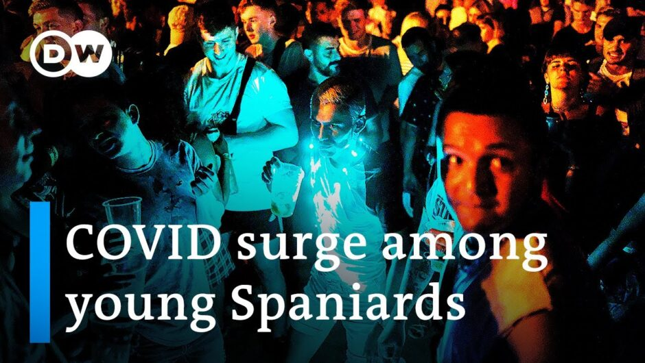 COVID surge in Spain sparks fear of new variants | DW News