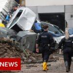 Angela Merkel shocked by 'surreal' floods devastation in Germany – BBC News