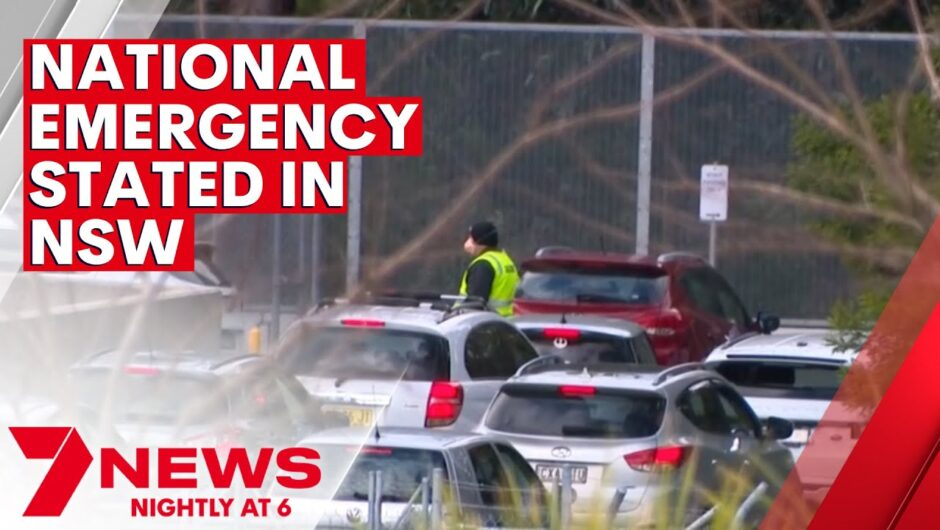 'National emergency' declared during Sydney's 2021 COVID-19 outbreak | 7NEWS