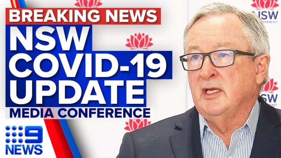 NSW records 163 local COVID-19 cases | Coronavirus | 9 News Australia