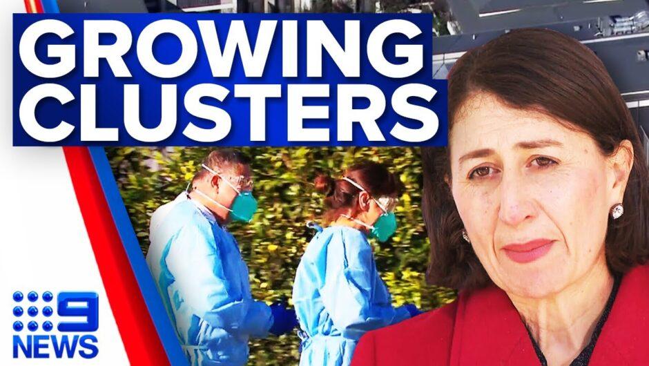 Doubts over easing of lockdown as NSW records 35 local cases | Coronavirus | 9 News Australia