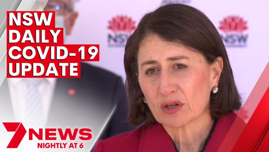 """Days ahead """"absolutely critical"""" for Sydney COVID-19 lockdown to end   7NEWS"""